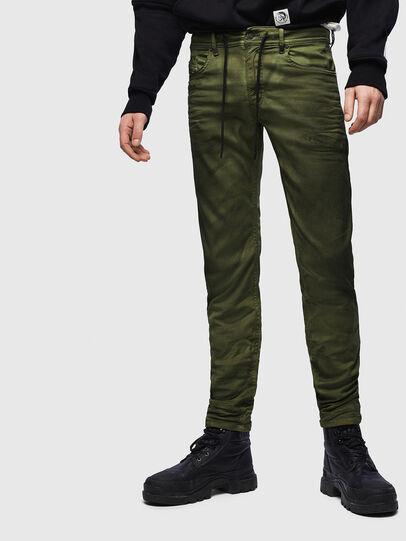 Diesel - Thommer JoggJeans 069MM, Green - Jeans - Image 1