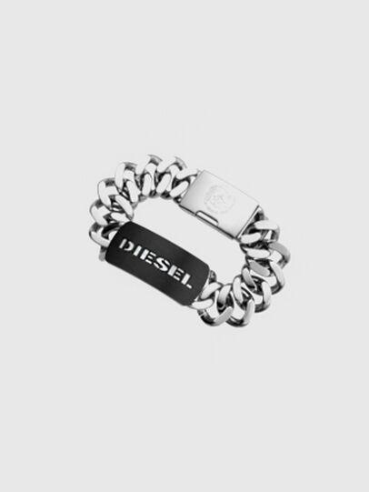 Diesel - DX0019, Silver - Bracelets - Image 1