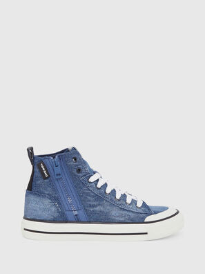 S-ASTICO MID ZIP W, Blue Jeans - Sneakers