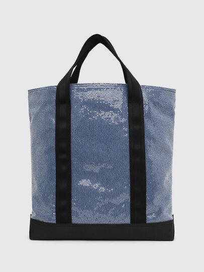 Diesel - F-THISBAG SHOWAY, Blue/Black - Shopping and Shoulder Bags - Image 2