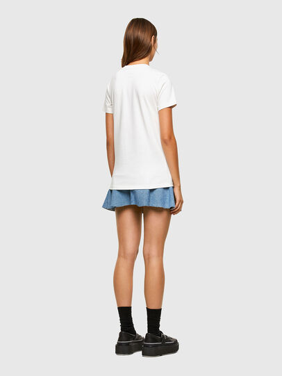 Diesel - T-SILY-E55, White - T-Shirts - Image 6