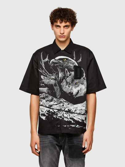 Diesel - S-WOLF, Black - Shirts - Image 1