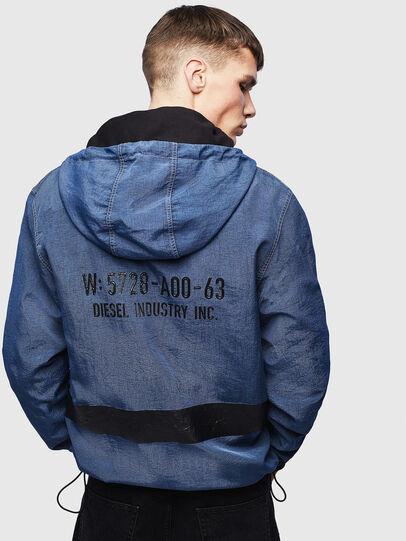 Diesel - J-HEADIN, Blue - Jackets - Image 3