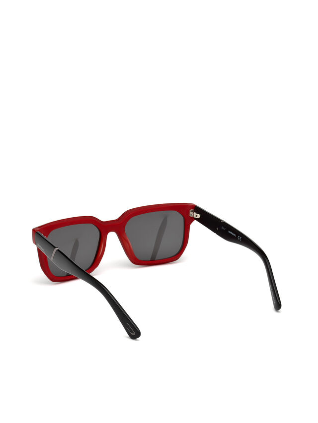 DL0253, Black/Red