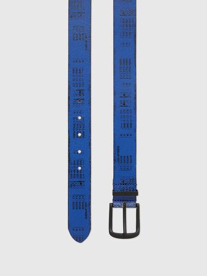 Diesel - B-DERUB, Black/Blue - Belts - Image 3