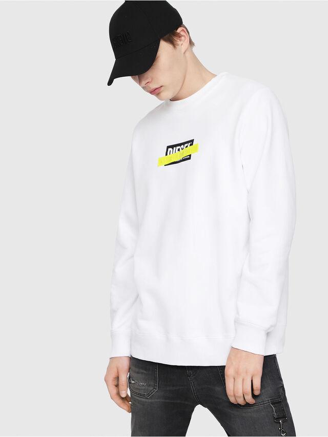 Diesel - S-GIR-DIE, White - Sweaters - Image 1