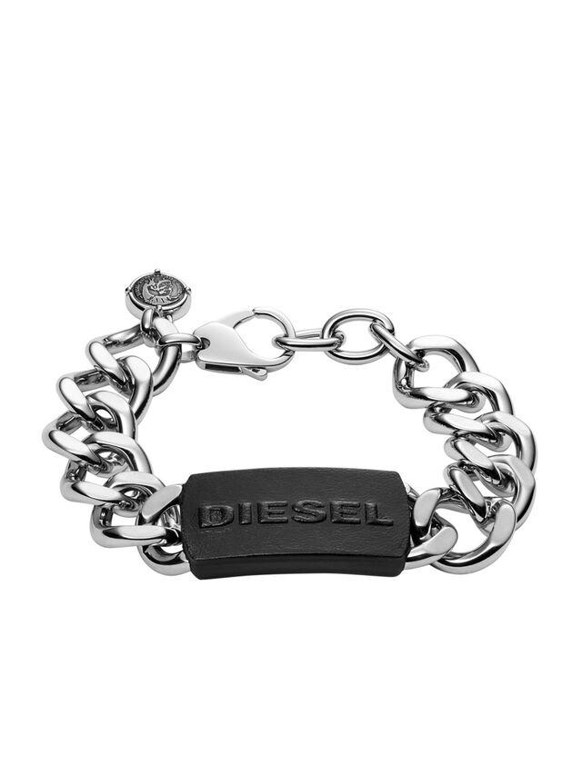 Diesel BRACELET DX1010, Silver - Bracelets - Image 1