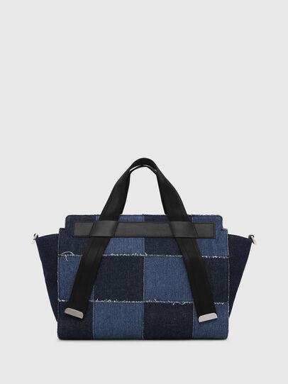 Diesel - F-CAORLY SATCHEL M, Blue - Satchels and Handbags - Image 2