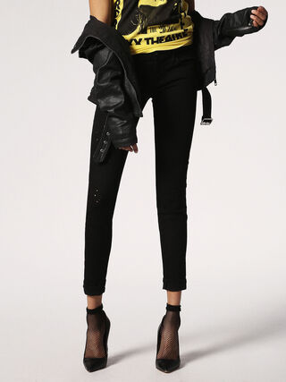 SKINZEE-LOW-S 084GX, Black Jeans