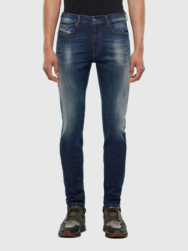 D-Amny 009FB, Dark Blue - Jeans