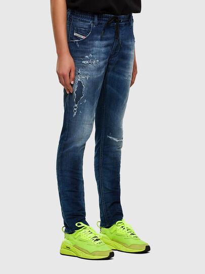 Diesel - Krailey JoggJeans 069PL, Dark Blue - Jeans - Image 6