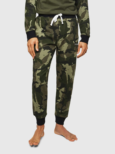 Diesel - UMLB-PETER, Green Camouflage - Pants - Image 1