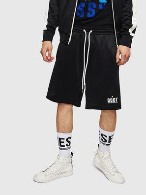 P-MIKHAIL, Black - Shorts