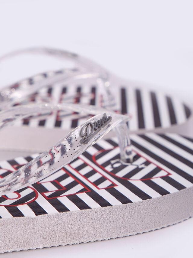 FF 12 STRIPE CH, Black/White