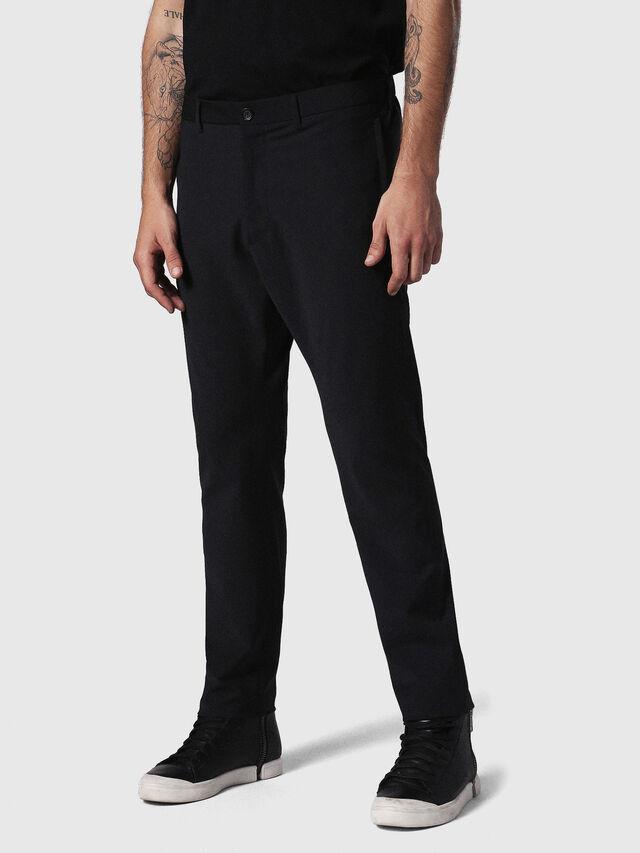 Diesel - P-OLIVERY, Black - Pants - Image 1