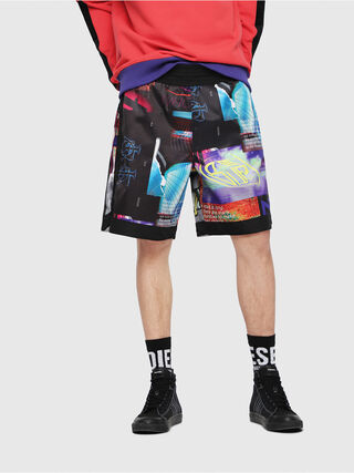 P-KUMI-PRINT,  - Shorts