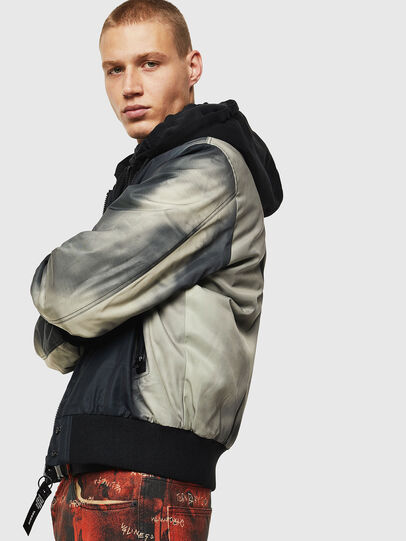 Diesel - J-FOREST, Black - Jackets - Image 4