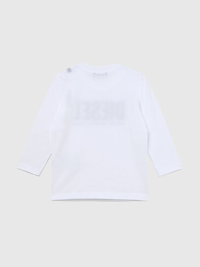 Diesel - TJUSTLOGOB ML-R, White - T-shirts and Tops - Image 2