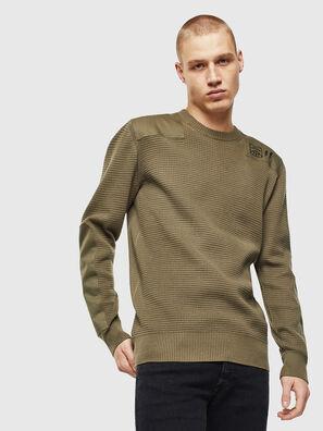 K-LESTER, Military Green - Knitwear