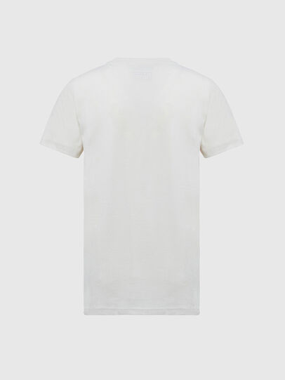 Diesel - T-SILY-E55, White - T-Shirts - Image 2