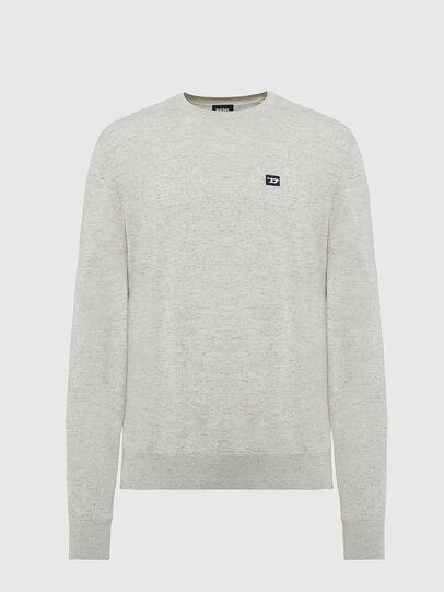 Diesel - K-CROFT-TOMI, Light Grey - Knitwear - Image 1