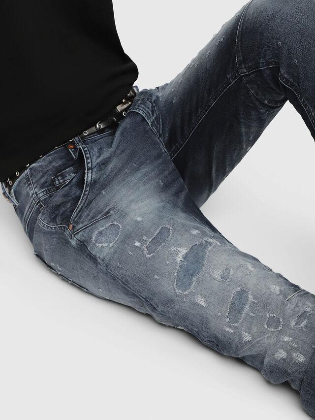 Diesel - Fayza JoggJeans 069CC, Dark Blue - Jeans - Image 3