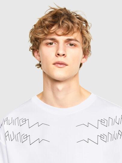 Diesel - T-AFNIO, White - T-Shirts - Image 3