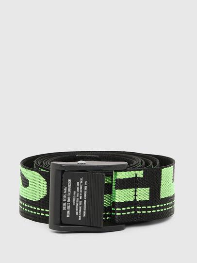 Diesel - B-MASER, Black/Green - Belts - Image 1