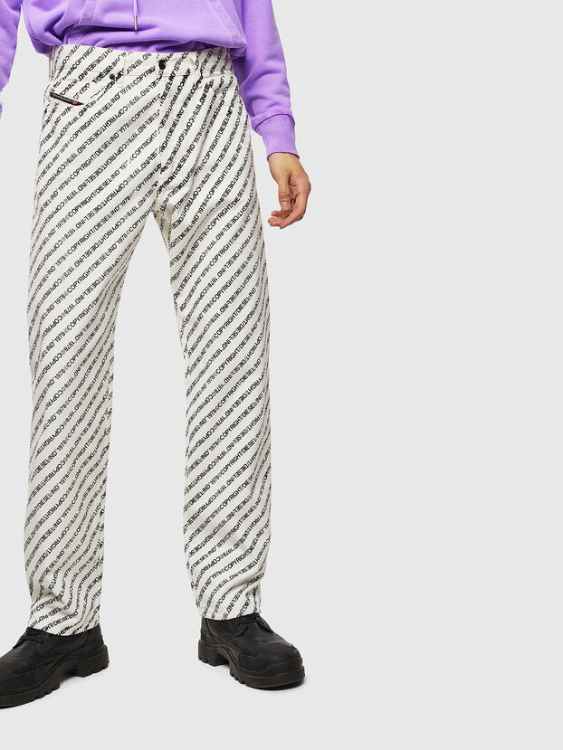 D-Macs 069KU, White - Jeans