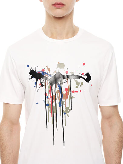 Diesel - TY-DRIPPING,  - T-Shirts - Image 3