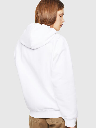 Diesel - F-ANG-HOOD-J1, White - Sweaters - Image 2