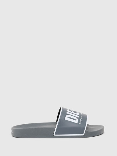 Diesel - SA-VALLA, Grey - Slippers - Image 1