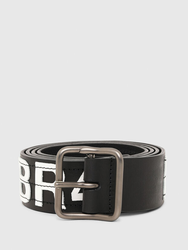 B-R4V3, Black/White - Belts