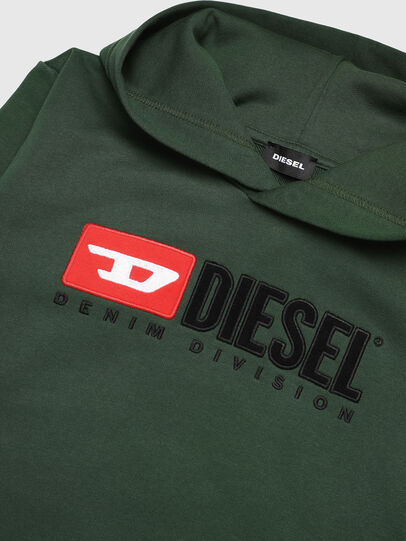 Diesel - SDIVISION OVER, Dark Green - Sweaters - Image 3