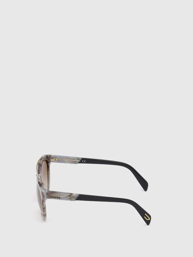 Diesel DM0189, Grey - Eyewear - Image 3