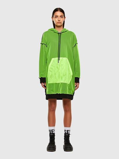 Diesel - D-ADO, Green - Dresses - Image 1
