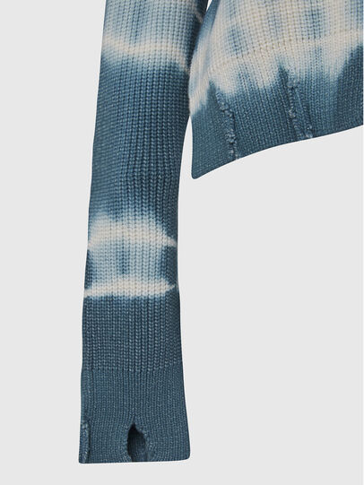 Diesel - M-JONGE, Green/White - Knitwear - Image 3