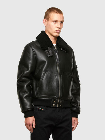 Diesel - L-ARNOLD,  - Leather jackets - Image 7