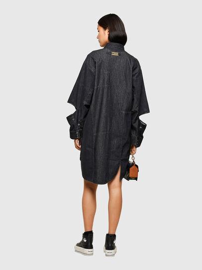 Diesel - DE-BLANCLE, Black - Dresses - Image 2