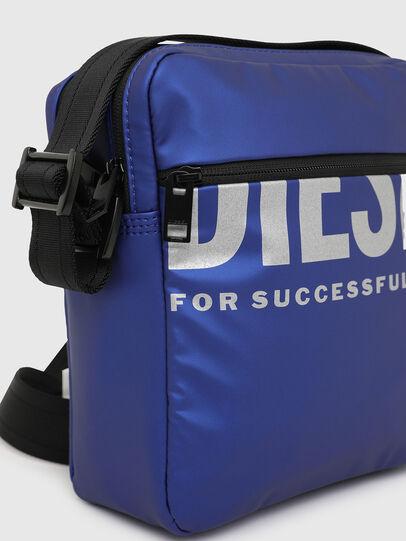 Diesel - F-BOLD DOUBLECROSS I, Blue - Crossbody Bags - Image 5