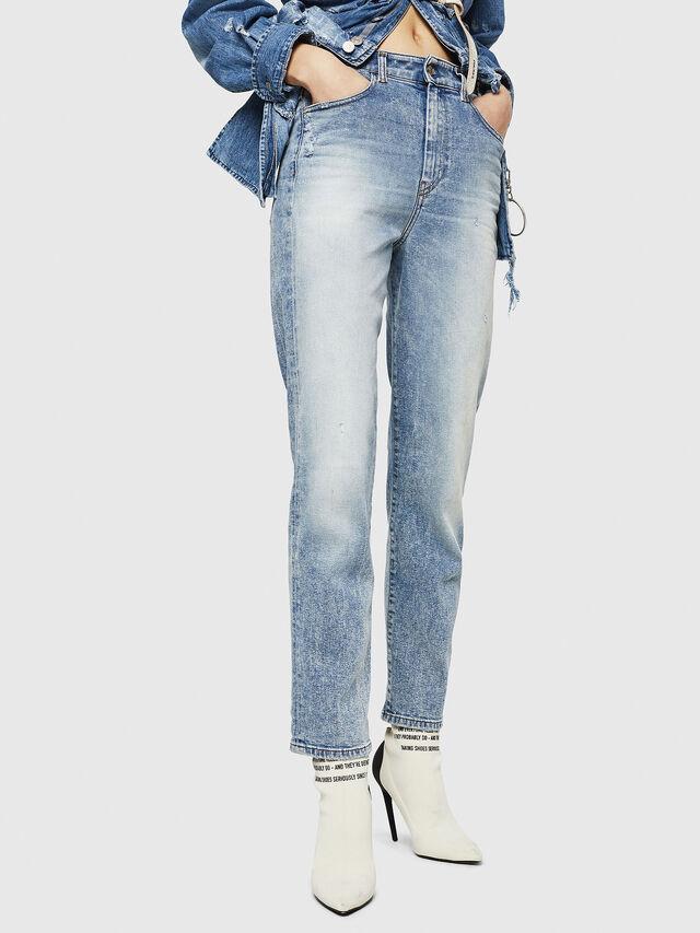 Diesel - D-Eiselle 084AA, Light Blue - Jeans - Image 1