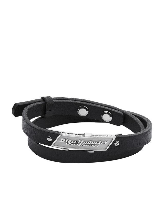 Diesel BRACELET DX1034, Black - Bracelets - Image 1