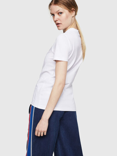 Diesel - T-SILY-ZE, White - T-Shirts - Image 2