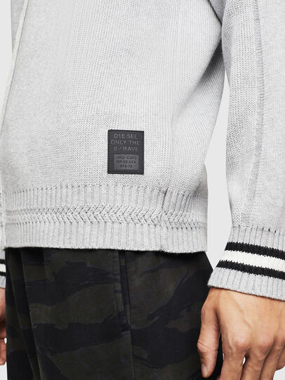 Diesel - K-BOX, Light Grey - Knitwear - Image 5