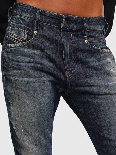 Diesel - Fayza 0096U, Dark Blue - Jeans - Image 3