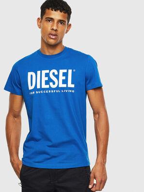 T-DIEGO-LOGO, Light Blue - T-Shirts