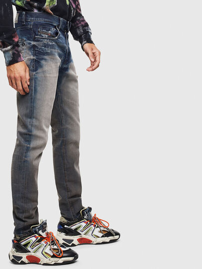 Diesel - D-Strukt 0097Q, Medium blue - Jeans - Image 4