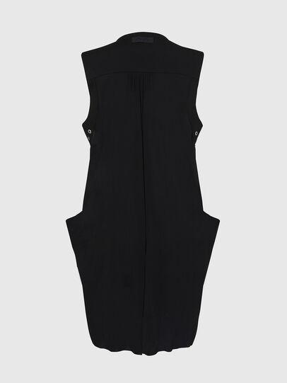 Diesel - D-EVEN-A, Black - Dresses - Image 7