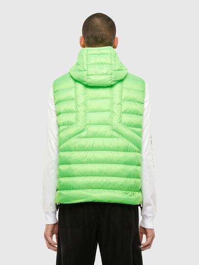 Diesel - W-DWAIN-SL, Green Fluo - Winter Jackets - Image 2
