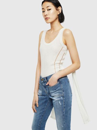 Diesel - K-SIMONA, White - Knitwear - Image 4